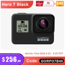 GoPro HERO 7 Black Waterproof Action Camera with Touch Screen Sports Cam Go Pro HERO 7 12MP Photos Live Streaming Stabilization