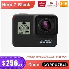 GoPro HERO 7 Schwarz Wasserdichte Action Kamera mit Touch Screen Sport Cam Go Pro HERO 7 12MP Fotos Live Streaming stabilisierung