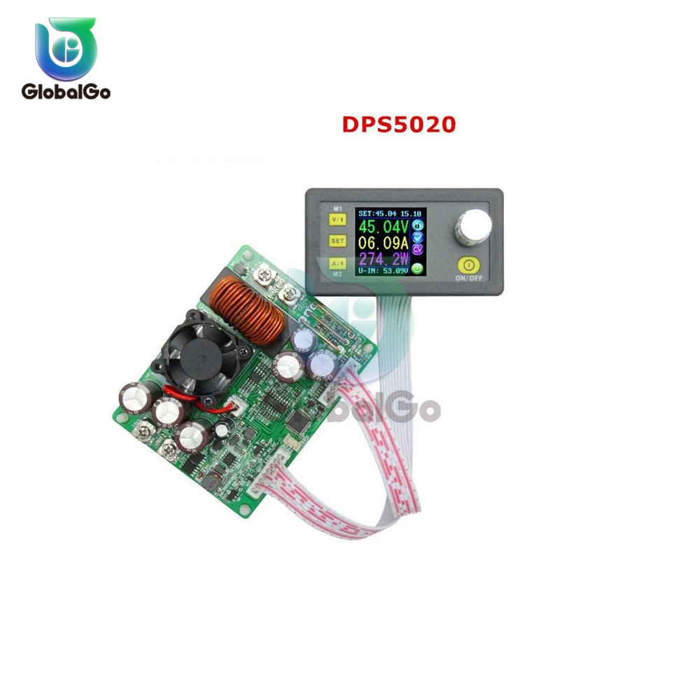 <font><b>DPS5015</b></font> Constant Voltage current DC Step-down Power Supply module buck Voltage converter LCD voltmeter 50V <font><b>15A</b></font> image