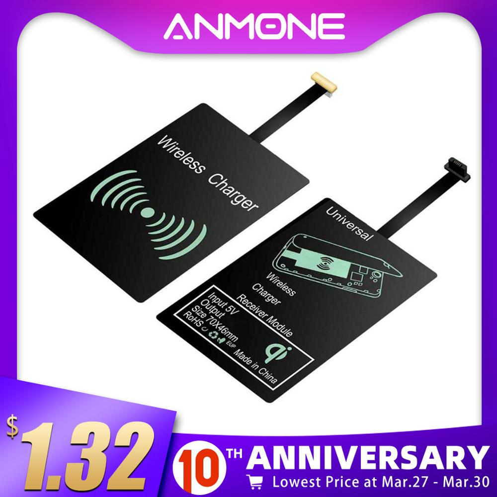 ANMONE Wireless Charger Charge USB Wireless Charging Receiver Universal Micro USB Type C Qi Pad Module For Huawei Mate30 Pro