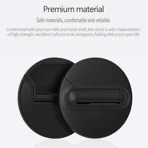 Image 2 - Uniwersalny uchwyt na laptopa czarny składany przenośny stojak na laptopa, wsparcie 7 17 calowy Notebook, dla MacBook Air Pro Notebook Cooler Stand