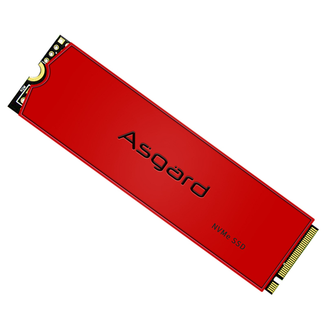 Asgard AN3 RED SERIES M.2 ssd M2 512gb PCIe NVME 512GB 1TB Solid State Drive 2280 Internal Hard Disk hdd for Laptop with cache 4