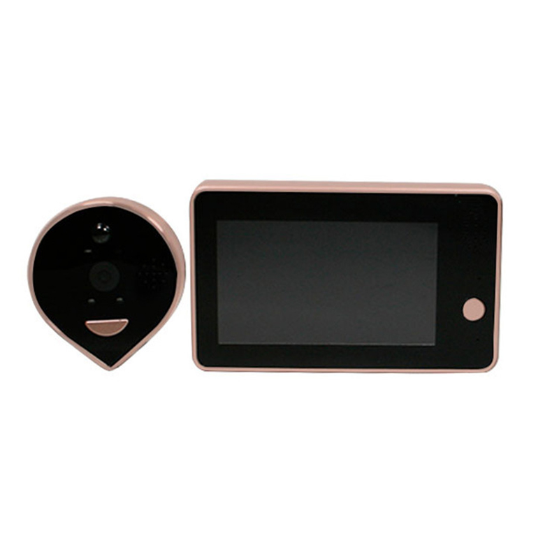 Купить с кэшбэком New Wireless Wifi Security Doorbell Intercom DoorBell Phone Remote Peephole Infrared Night Security Camera HD Viewer Doorbell