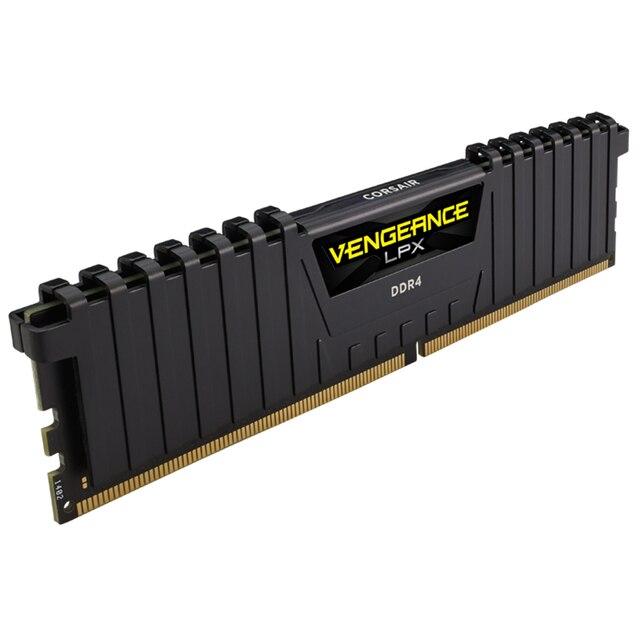 CORSAIR Vengeance LPX RAM DDR4 8GB 16GB 3200MHz ordinateur de bureau de mémoire ordinateur de bureau mémoire RAM DDR4 288 broches DIMM Module