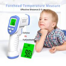 RZ Baby Thermometer Infrared Digital LCD Body Infrared Forehead Ear Non-Contact Gun Adult Body Fever IR Children Thermometer