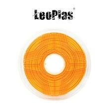 Liquidação nos eua espanha armazém 2.85mm 1kg ultimaker laranja pla filamento para fdm 3d material de impressão suprimentos