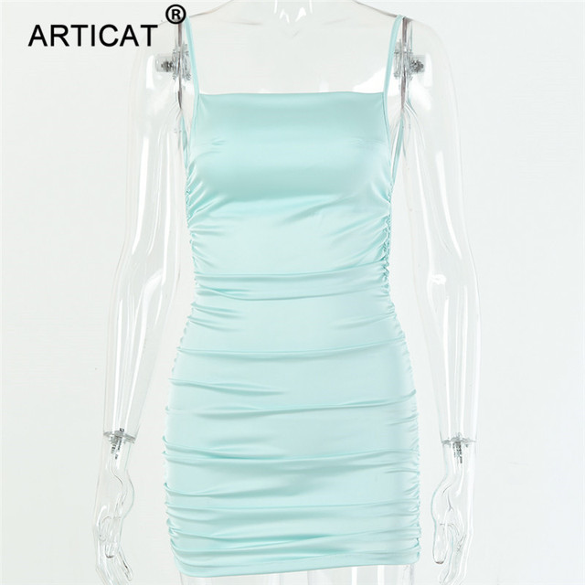 short satiny dress for party 6