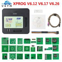 2020 i più nuovi XPROG V6.26 V6.12 V6.17 aggiungono la nuova autorizzazione V5.84 X-PROG M scatola di metallo XPROG-M programmatore ECU X Prog M adattatori completi