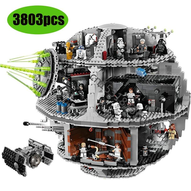 Death Star 05063 05035 Wars Plan Series Compatible With 75159 10188 Lepinblocks Building Blocks Bricks Educational Toys Gift