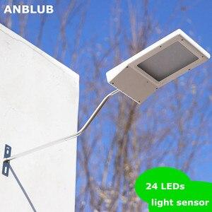 High Brightness 24 LED Solar L