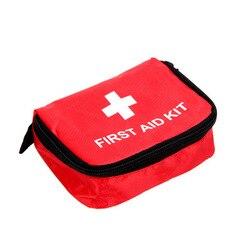 Apteczka na leki Outdoor Camping torba medyczna Survival torebka zestawy awaryjne torba podróżna Portable15x10x5cm Zestawy ratunkowe Bezpieczeństwo i ochrona -