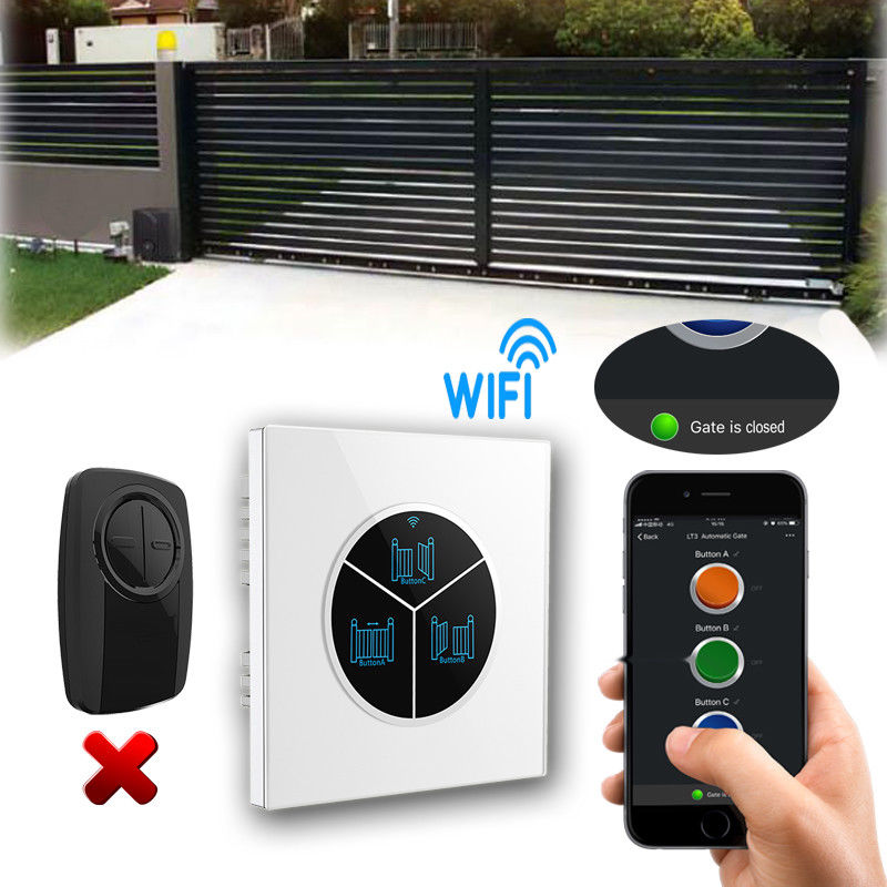 Mobile App Control WIFI Switch For Automatic Sliding Gate Opener Replace Remote Control