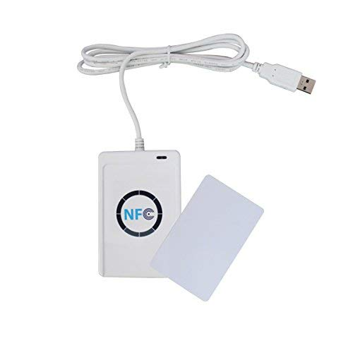 RFID Smart Card Reader Writer Copier Duplicator NFC ACR122U Writable Clone Software S50 13.56mhz ISO/IEC18092+5pcs M1 Cards