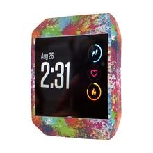 Yayuu relógio inteligente inclusivo capa protetora caso protetor de silicone macio compatível para fitbit ionic relógio inteligente