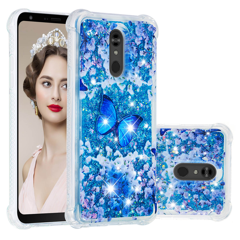 Image 2 - Bling Liquid Quicksand Phone Case For LG Stylus 3 Stylo 4 5 K10 K8 K4 2017 2018 K40 K30 K12 K20 Plus Cover Dynamic Soft TPU Case-in Fitted Cases from Cellphones & Telecommunications