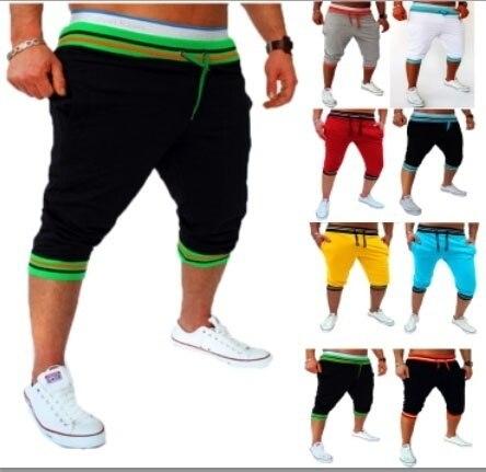 Zogaa homens shorts casuais calças de verão