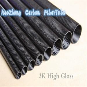 Image 2 - 3k Carbon Fiber Rohr/Welle Länge 1000mm OD11mm 12mm 13mm 14mm 15mm 16mm 17mm 18mm 19mm 20mm (Rolle Gewickelt)