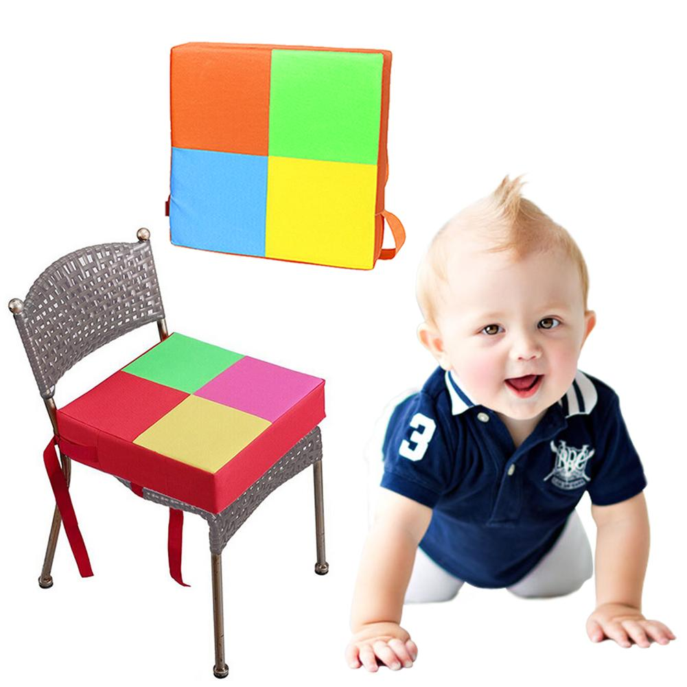 Baby Seat Cushion Non-slip Baby Dining Chair Cushion Baby Booster Seat Elevated Chair Heightening Seat Easy To Install In Stock