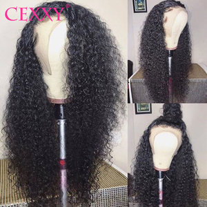13*6 Lace Front Human Hair Wigs Peruvian Water Wave Wigs 4*4 Lace Closure Wigs For Women 150% Density Remy Curly Human Hair Wigs(China)