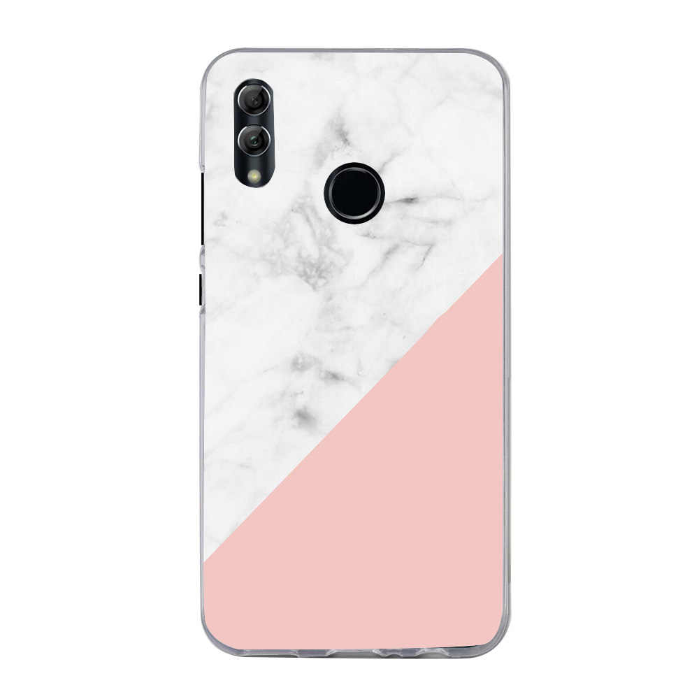 Caso della copertura per Huawei P di Smart 2019 POT-LX3 POT-LX1 P20 lite Pro P30 Lite P40 Pro p40 lite E Chiaro cuore Morbido TPU Custodia In Silicone