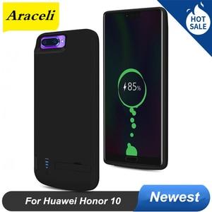 6500 мАч для Huawei Honor 10 чехол для аккумулятора чехол для телефона умный внешний аккумулятор для Huawei Honor 10 чехол для зарядного устройства