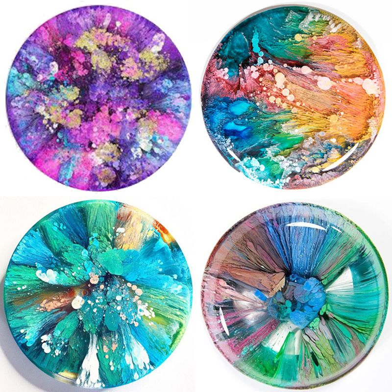 20 Colours 10ML Crystal Epoxy Resin Pigment Liquid Colorant Dye Ink Diffusion Resin Jewelry Making DIY Handmade Crafts Art Sets 5