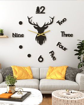 Large Decotative Nordic Diy Wall Clock Bedroom Modern Design Wall Clocks Decorative Watches Living Room Watch Decor 2020 II50BGZ