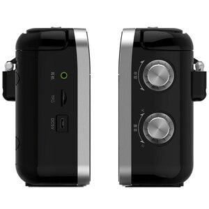 Image 3 - Mini Radio Bluetooth Radio Portable deux bandes avec antenne télescopique Radio stéréo FM/MW Signal sans fil Station récepteur numérique