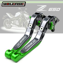 For KAWASAKI Z650 Z 650 2017 2018 2019 2020 Motorcycle CNC Adjustable Foldable Extendable Motorbike Brakes Clutch Levers