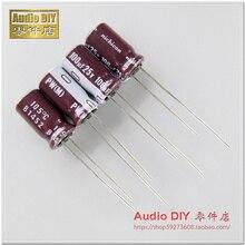Condensador electrolítico de alta frecuencia, 50 Uds., nuevo NICHICON PW 25V100UF 6,3x11mm 25V 100UF pw 100uF/25V
