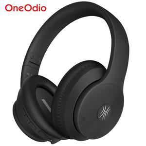 Image 1 - Oneodio A40 Draadloze Hoofdtelefoon Active Noise Cancelling Bluetooth Hoofdtelefoon V5.0 Anc Headset Met Microfoon Voor Telefoon Over Oor