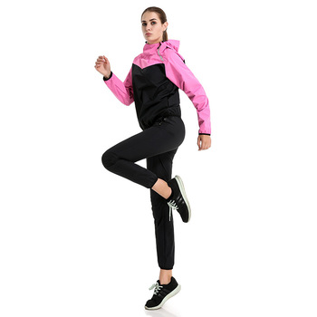 Women Sweat Jacket Running Suit Sports Yoga Clothes Lovers Wear Fitness Sweat Suit Two Sets of Sweat Suits Full Breathable