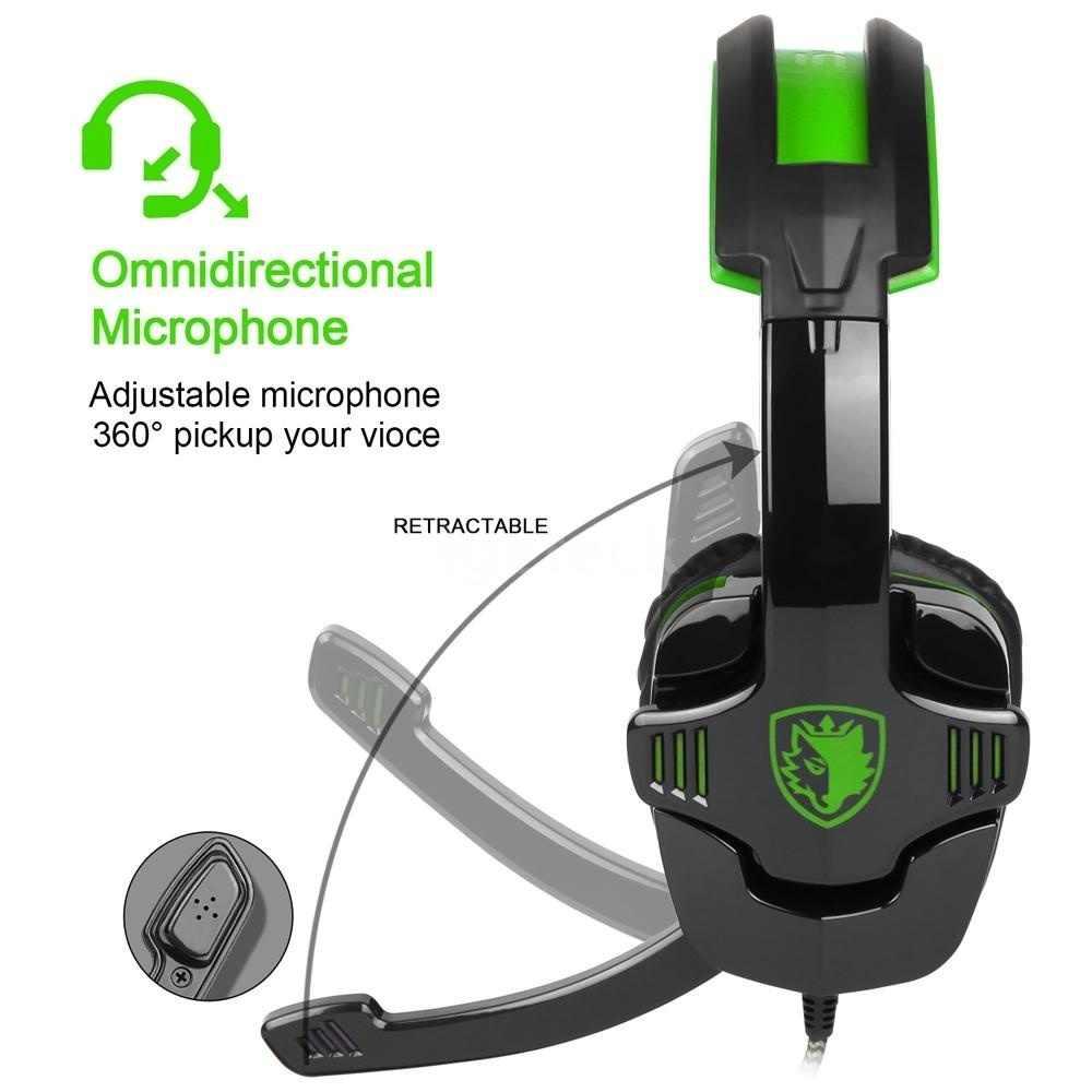 3.5 ミリメートルヘッドセットゲーミングヘッドセットマイクノイズキャンセル音楽 PS4 Xbox 用ラップトップのタブレット Pc 携帯有線ヘッドホン