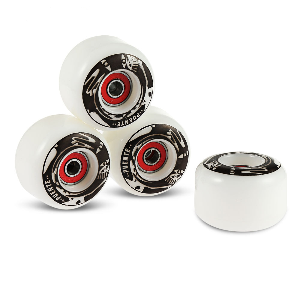 4pcs Skateboard Wheels Durable PU Skate Wheels 78 - 85A For Ollie Punk And Jumping Longboard Deck Hardness Skateboard Parts
