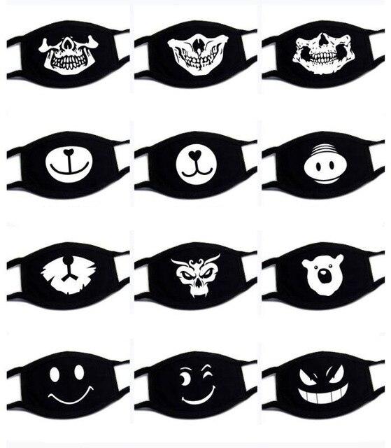1PC Unisex Kawaii Anti Dust Mask Cotton Mouth Mask Cute Cartoon Mouth Muffle kpop Flu Face Mask Korean Masque Bear masks