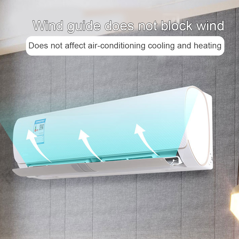 Adjustable Air Conditioner Deflector Confinement Air Deflector Outlet Air Wing Air Cooled Anti Blast Baffle Wind Direction