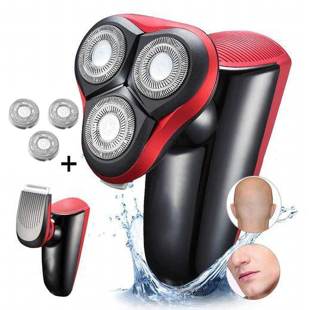 Multifonctionnel facile tête rasoir électrique rasoir voiture pour hommes tondeuses à barbe tondeuses à cheveux Port USB