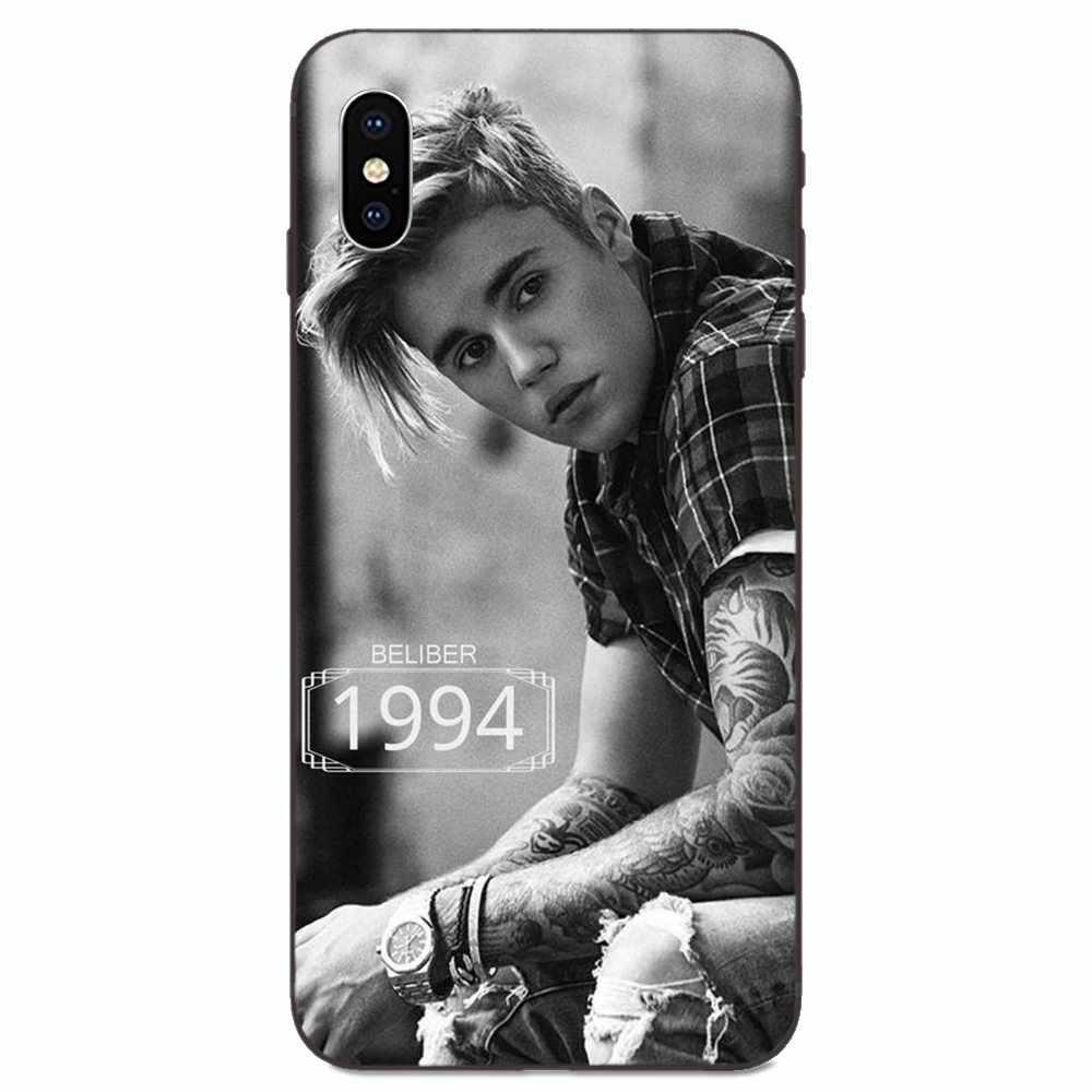Cổ Điển Cao Cấp Phụ Kiện Điện Thoại Ốp Lưng Thời Trang Xin Lỗi Yêu Bản Thân Justin Bieber Cho Xiao Mi Đỏ Mi Mi Note 2 3S 8 9 Lite SE Pro