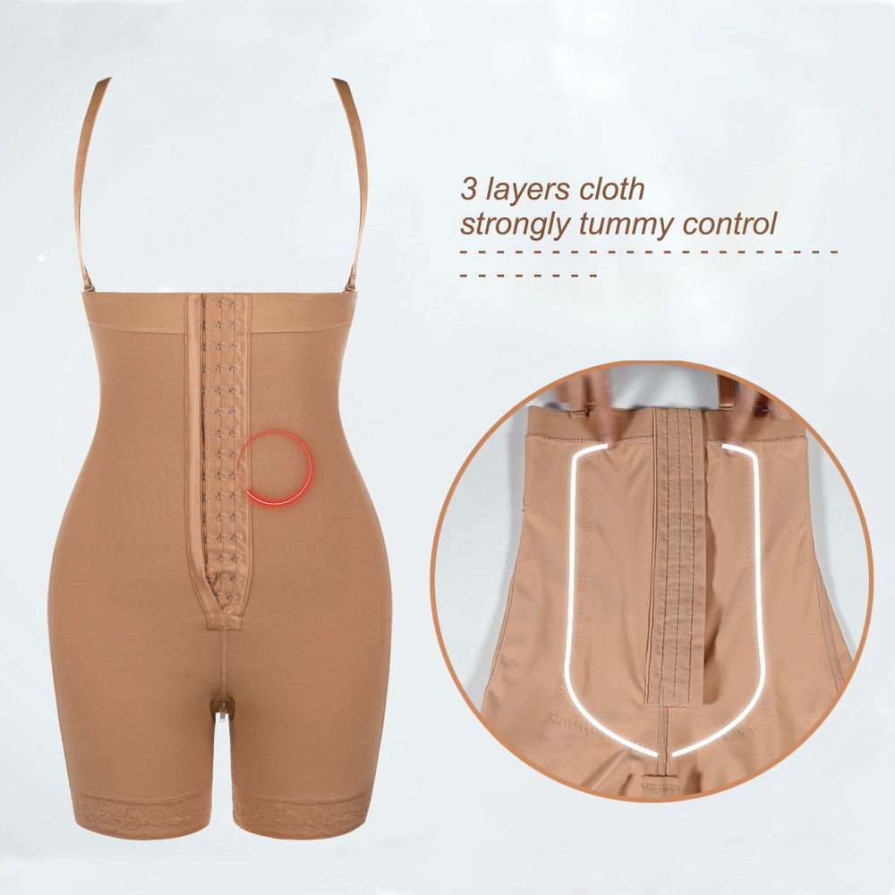 Lover-Beauty High Waist Tummy Control Body Shaper Corset Hip Enhancer  4