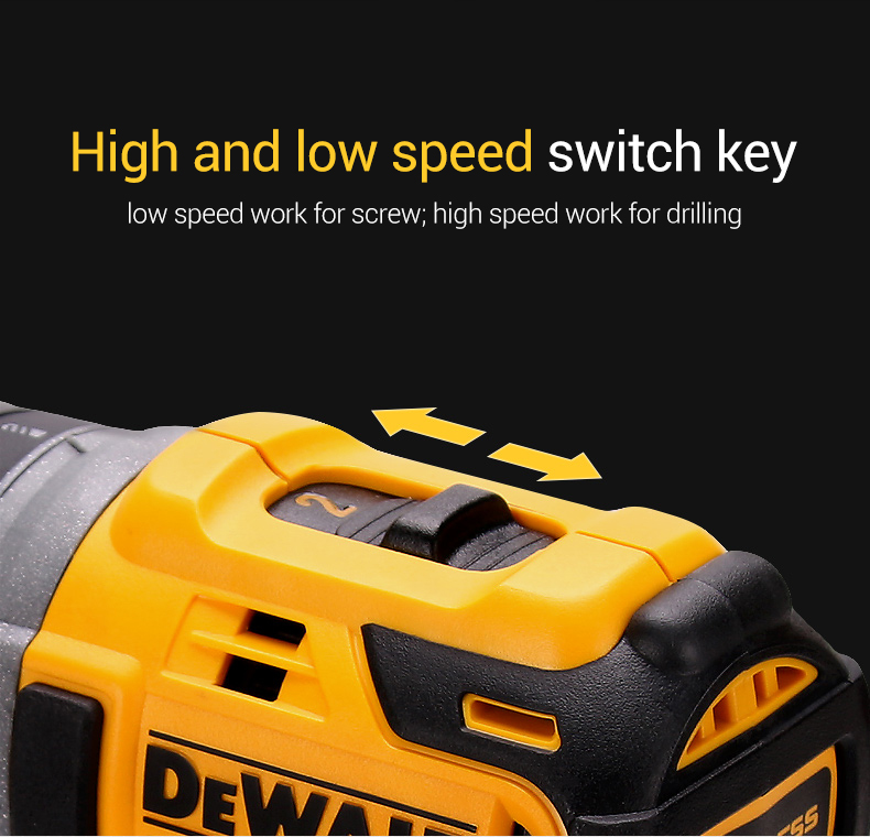 High and low speed switch key