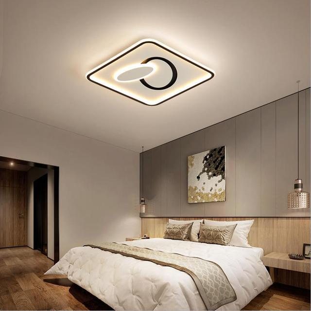Фото новинка 2020 потолочный светильник для спальни теплый индивидуальный