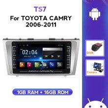 Schermo IPS supporto Android Carplay WIFI BT per Toyota Camry 6 XV 40 50 2006-2011 autoradio lettore multimediale navigazione GPS