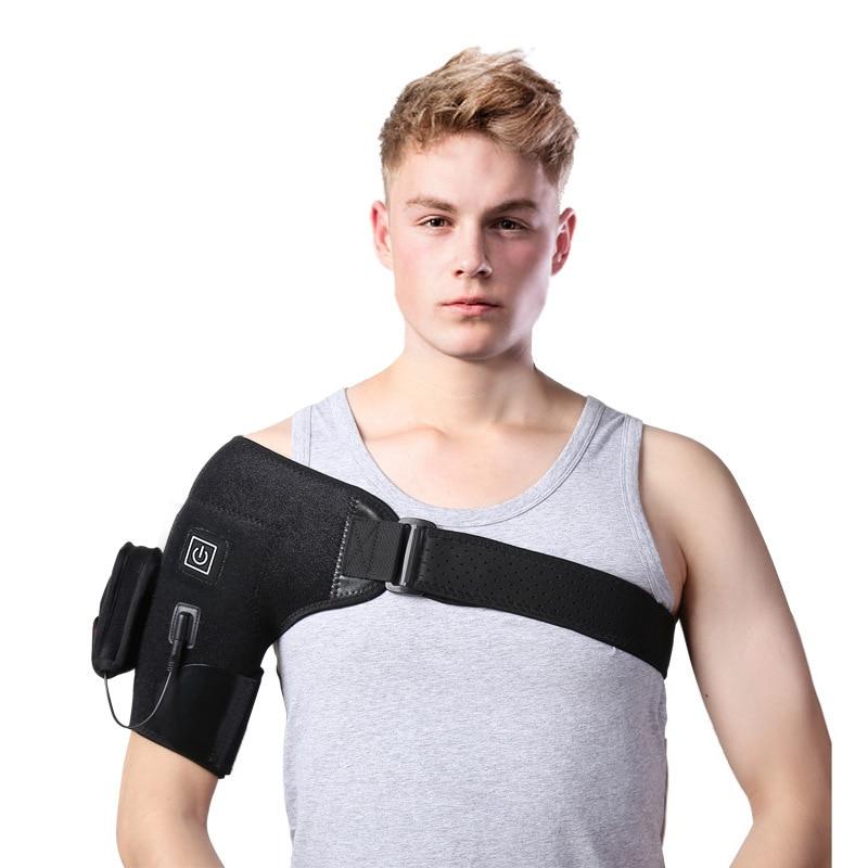 ZYNNEVA Electric Heating Shoulder Pads USB Self Heated Warm Arm Warmers Men Women Outdoor Neck Shoulder Heat Sports Suppor MS502