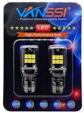 Vanssi 2 pçs 921 912 led backup reverso lâmpadas t15 w16w lâmpadas led canbus wy16w led indicador bulbo branco âmbar amarelo