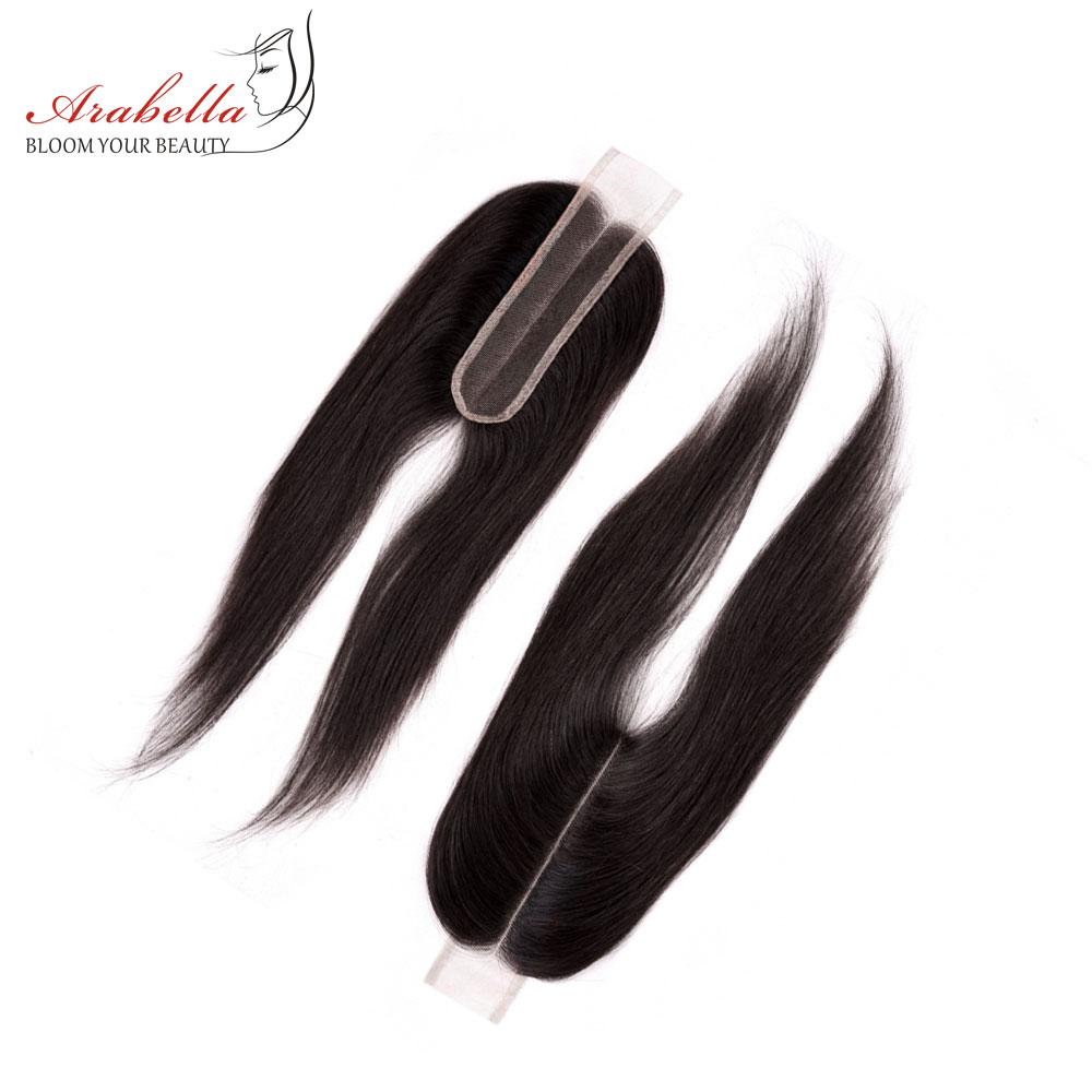 Image 4 - Пряди с закрытием, перуанские прямые волосы, пряди 2*6, Remy человеческие волосы, плетение, Арабелла, пряди-in 3/4 пучка на сетке from Пряди и парики для волос on AliExpress