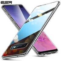 Étui pour Samsung en verre trempé ESR Galaxy S10 Note 10 Plus couverture rigide de luxe pour Samsung S10 e étui pour Samsung pare-chocs S10 Plus