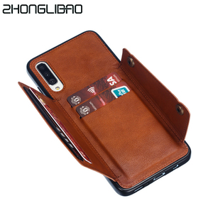 Wallet Case for Samsung Galaxy S8 S9 S10 S20 Ultra Plus A60 A80 A10 A20 A30 A40 A50 A70 M10 M20 M30 Leather Card Holders Cover(China)