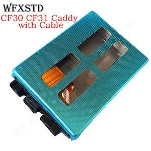 Nuevo Sata Hdd CF-30, Cable Caddy para Panasonic Toughbook CF30 CF-31 CF31, Caddy de disco duro con adaptador de cable flex genius