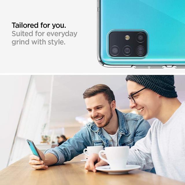 Ultrathin Phone Back Funda for Samsung Galaxy A01 Core A11 A21 A21S A31 A41 A51 A71 A81 A91 5G 360 Full Cover Case Soft TPU Bags 6