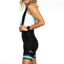 Tres Pinas-pantalones cortos de Ciclismo para mujer, Ropa de equipo profesional, pantalones de equitación, pantalones cortos con pechera, Wielertrui, verano, 2020